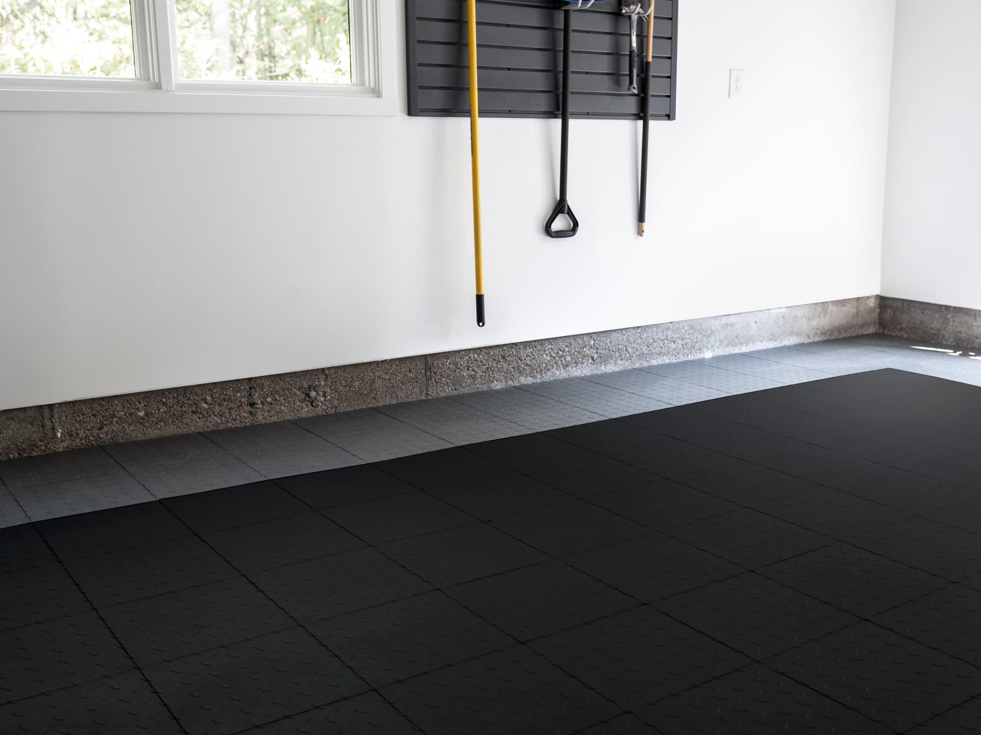 EasyGarge Flooring - Jet Black
