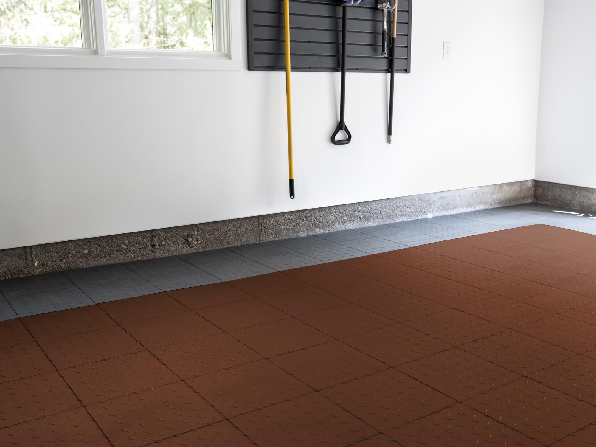 EasyGarge Flooring - Chocolate Brown