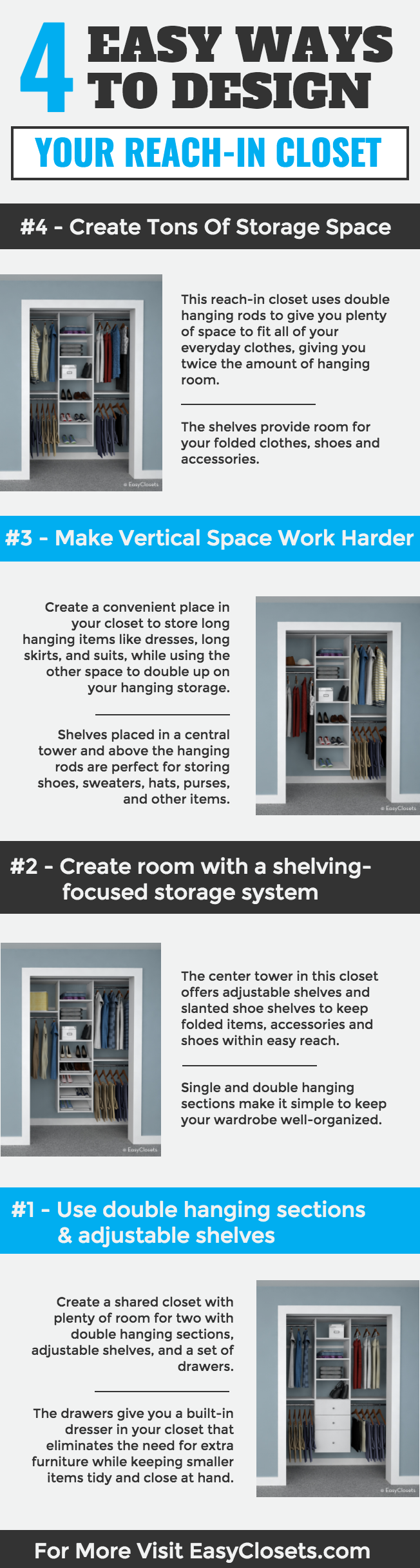 walk easy video how ideas to closets easyclosets a tips upgrade in com closet