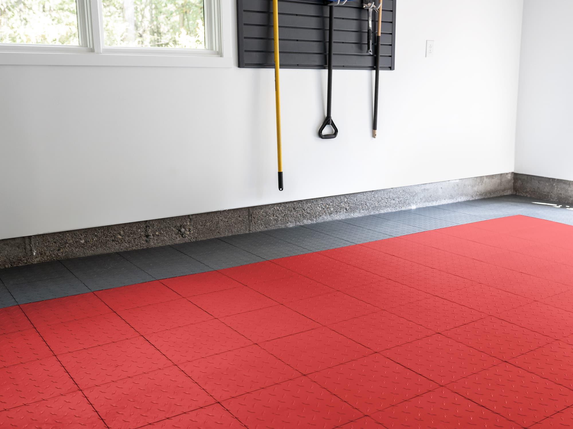 EasyGarge Flooring - Racing Red