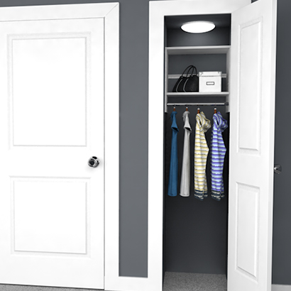 4 Design Ideas for Small Closets | EasyClosets