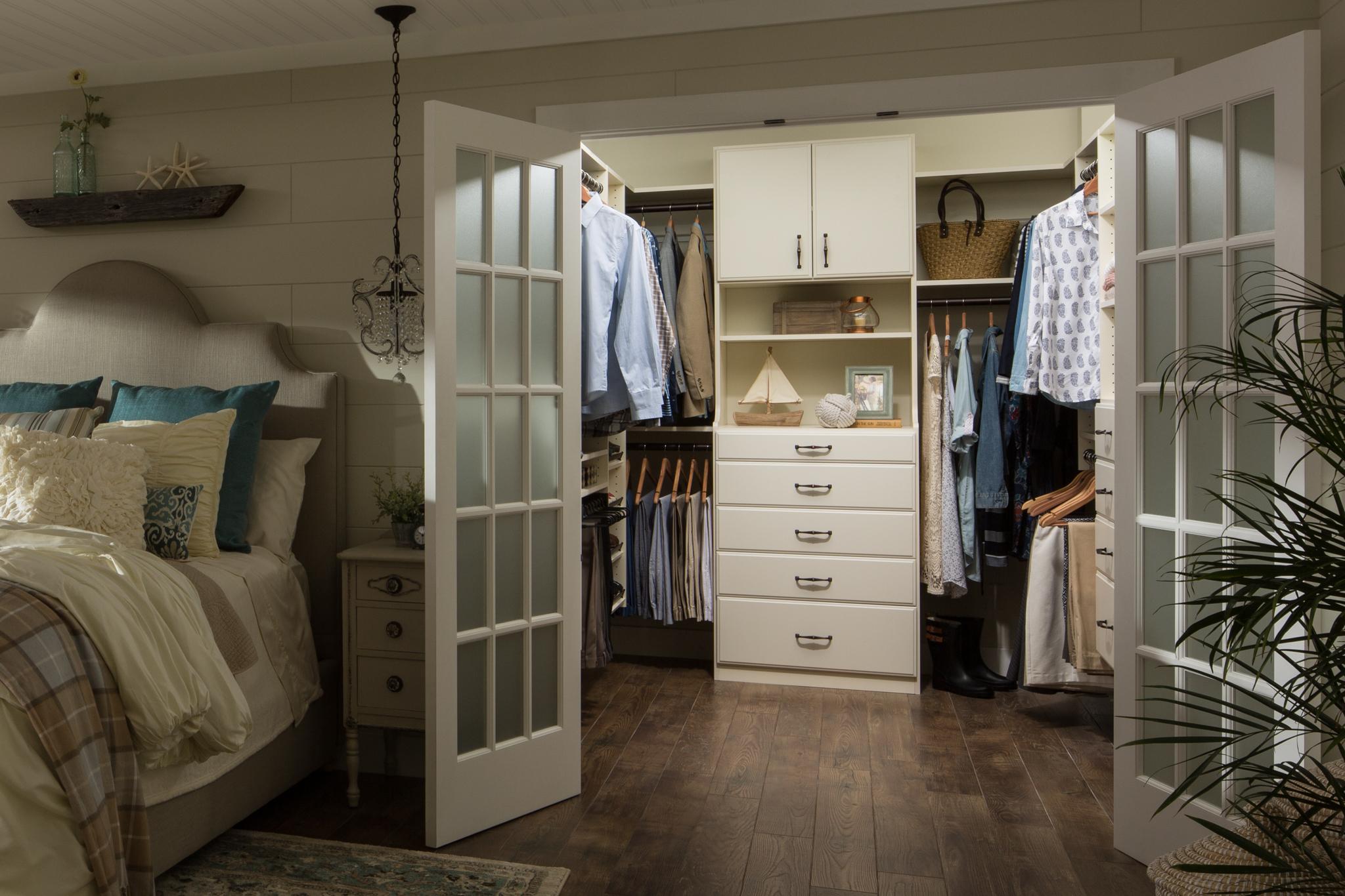 Maximize Floor To Ceiling Closet Space.