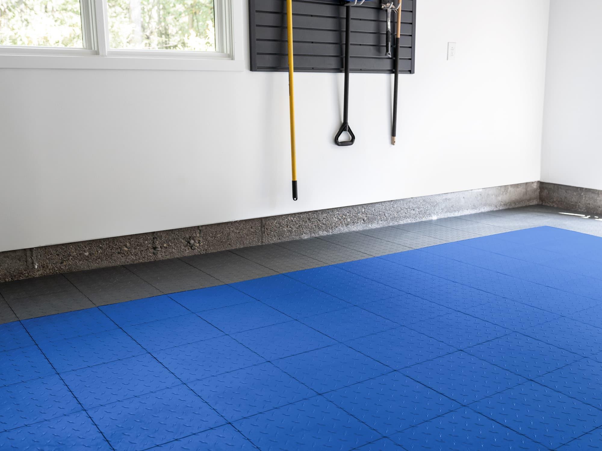 EasyGarge Flooring - Roayl Blue