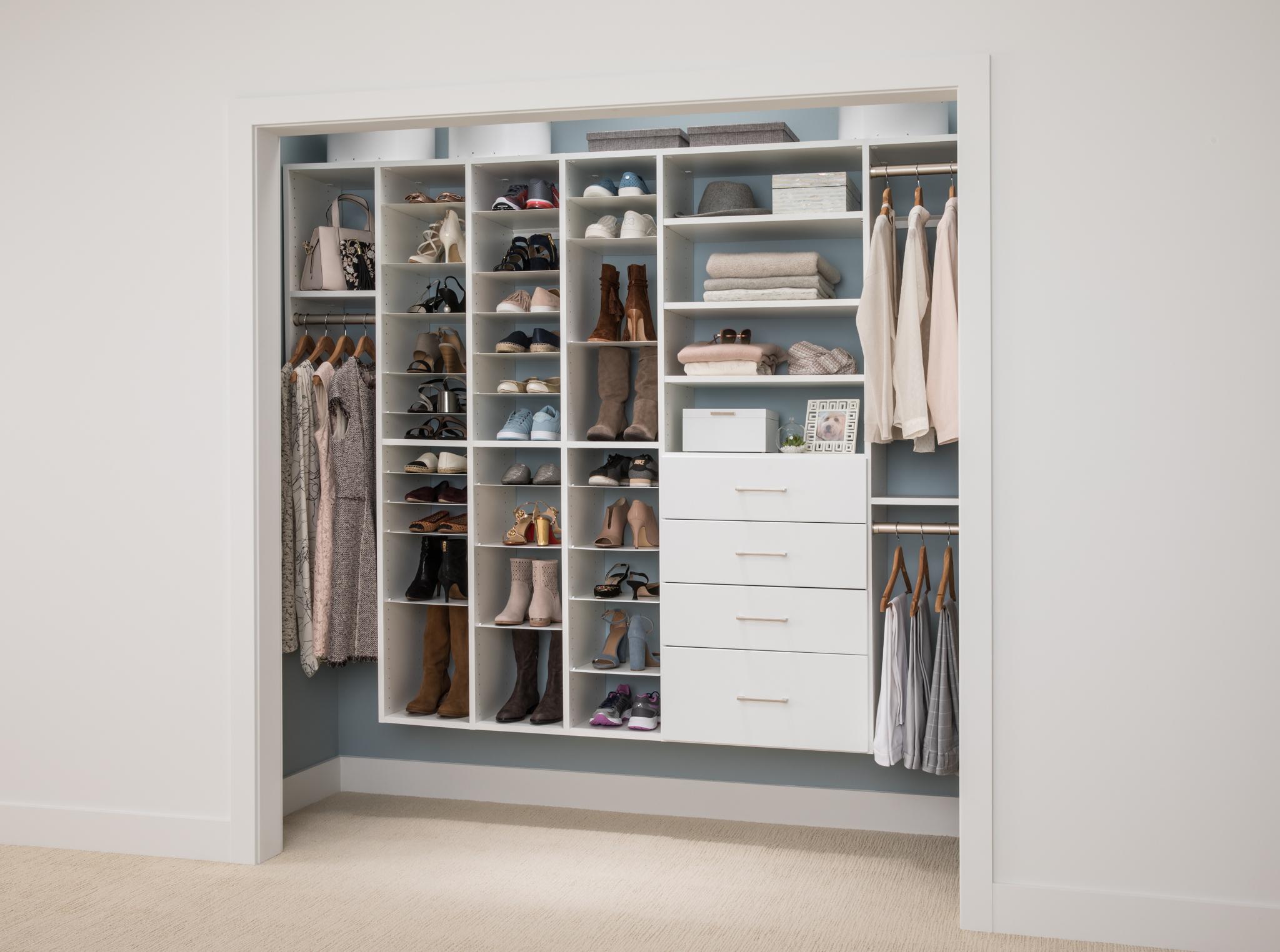 Ideal for Flexible efficient shoe storage 4