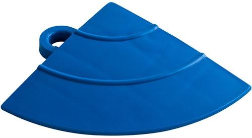 """12"""" Corner Flooring Tile - Royal Blue (4pk)"""