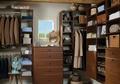 Rustic Walk-In Closet