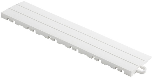 "12"" Pegged Edge Flooring Tile - Arctic White (10pk)"