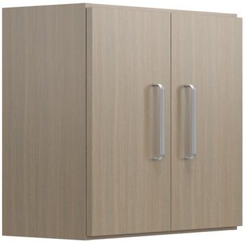 """24"""" Wide Overhead Cabinet with Doors"""