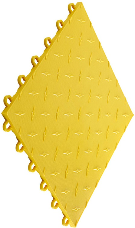 "12""x12"" Garage Flooring Tile - Citrus Yellow (10 pk)"