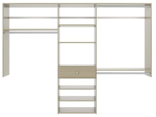 8' Perfect Fit Reach-In Closet - Weathered Grey