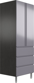 "24"" Deep x 30"" Wide x 78"" Tall Cabinet with Doors/3 Drawers"