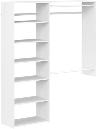 3' to 5' Deluxe Plus Closet Kit - White