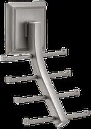 Tie Hook - Matte Nickel