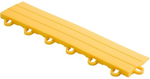 "12"" Looped Edge Flooring Tile - Citrus Yellow (10pk)"