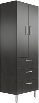 "19"" Deep x 30"" Wide x 78"" Tall Cabinet with Doors/3 Drawers"