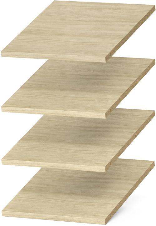 """12"""" Shelves - Honey Blonde (4 pack)"""