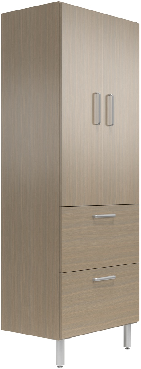 30 Quot Wide Tall Cabinet With Doors 2 Drawers Easygarage