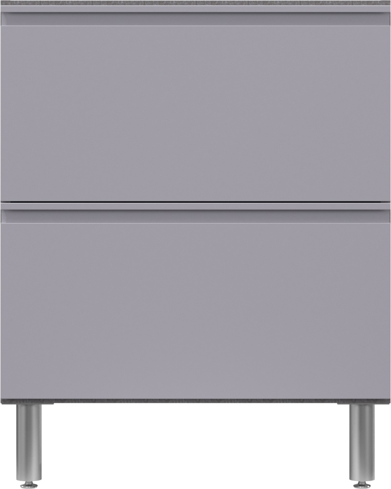 """24"""" Deep x 30"""" Wide Base Cabinet with 2 Drawers 