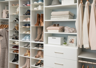 Custom Closet Home Organization Photo Gallery