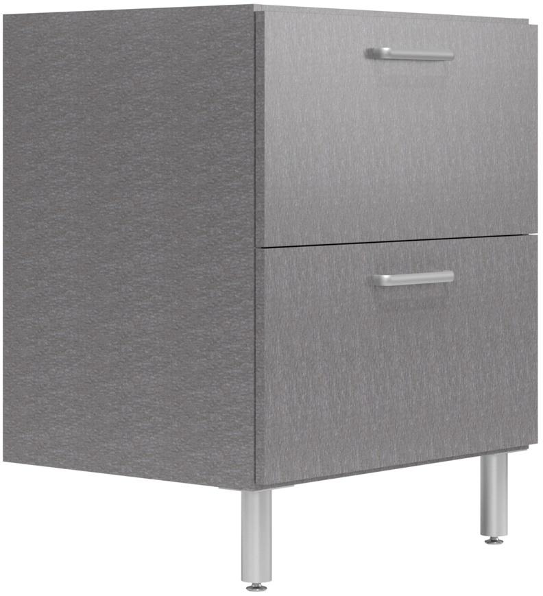 30 wide base cabinet with 2 drawers easygarage. Black Bedroom Furniture Sets. Home Design Ideas
