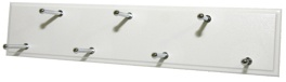 Sliding Belt Rack - White