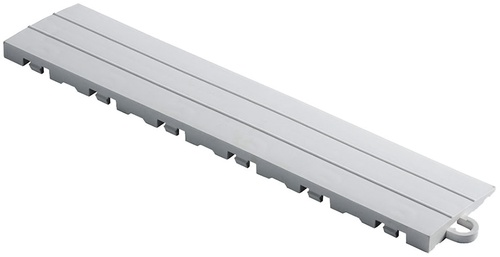 "12"" Pegged Edge Flooring Tile - Pearl Silver (10pk)"