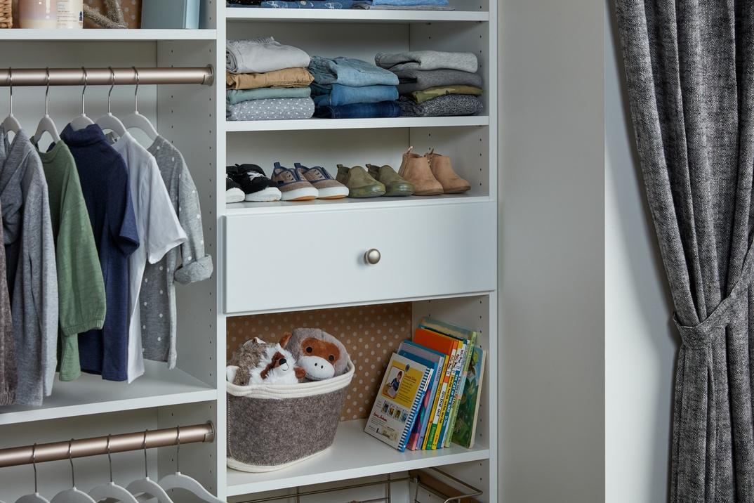 Toddler Reach-In Closet
