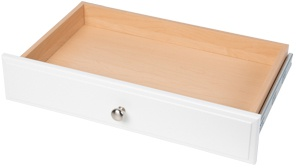 "4"" Deluxe Drawer - White"