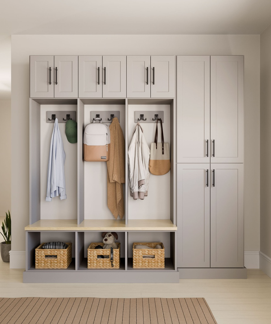 Entryway Locker Storage