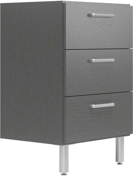 "19"" Deep x 24"" Wide Base Cabinet with 3 Drawers"