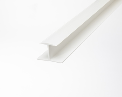 Slatwall Seam Molding - White 4ft.
