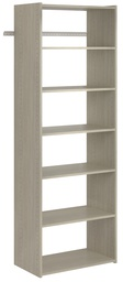 Essential Shelf Tower - Weathered Grey