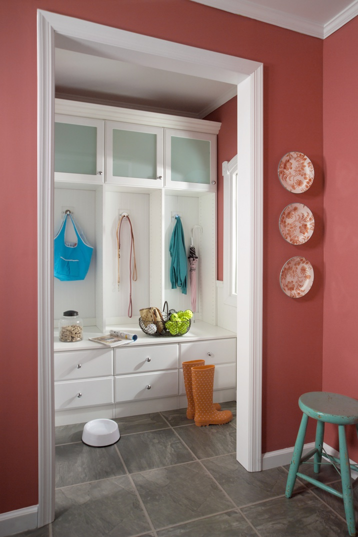 Entryway/Mudroom Organizer with Bench