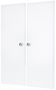 "35"" Deluxe Doors - White (pair)"