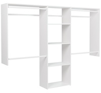 4' to 8' Basic Closet - White