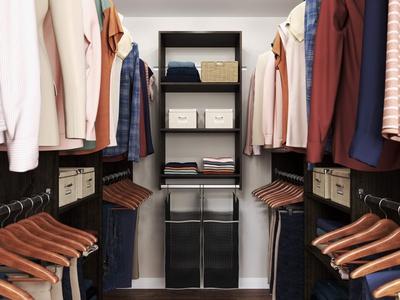 Hanging Hamper Closet Kit