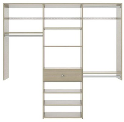 6' Perfect Fit Reach-In Closet - Weathered Grey