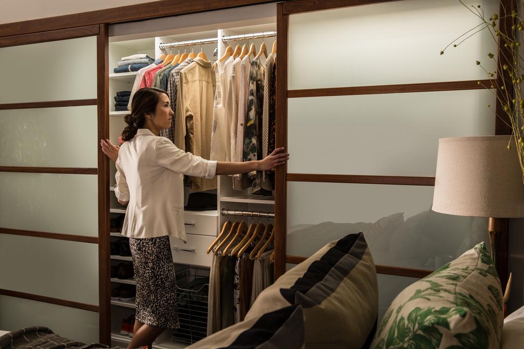 Reach-In Master Closet