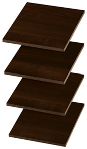 "12"" Shelves - Truffle (4 pack)"