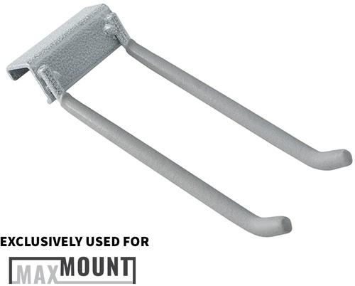 "5"" MaxMount Double Hooks - Standard (2pk)"