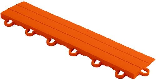 "12"" Looped Edge Flooring Tile - Tropical Orange (10pk)"