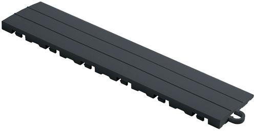 "12"" Pegged Edge Flooring Tile - Slate Grey (10pk)"