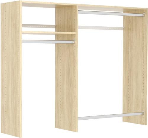 3' to 5' Hanging Closet Kit - Honey Blonde