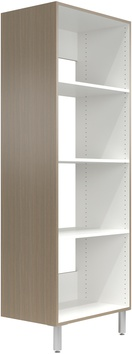 """30"""" Wide Tall Cabinet with Shelves"""