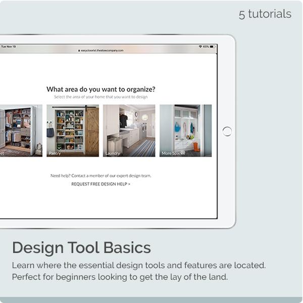 Design Tool Basics