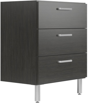 "30"" Wide Base Cabinet with 3 Drawers"