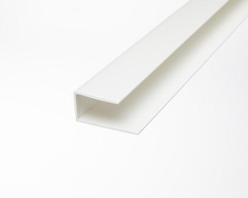 Slatwall Frame Molding - White 4ft.