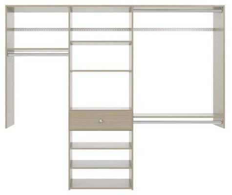7' Perfect Fit Reach-In Closet - Weathered Grey