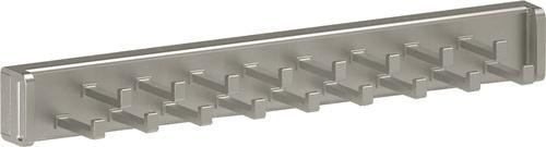 Tie Rack - Matte Nickel