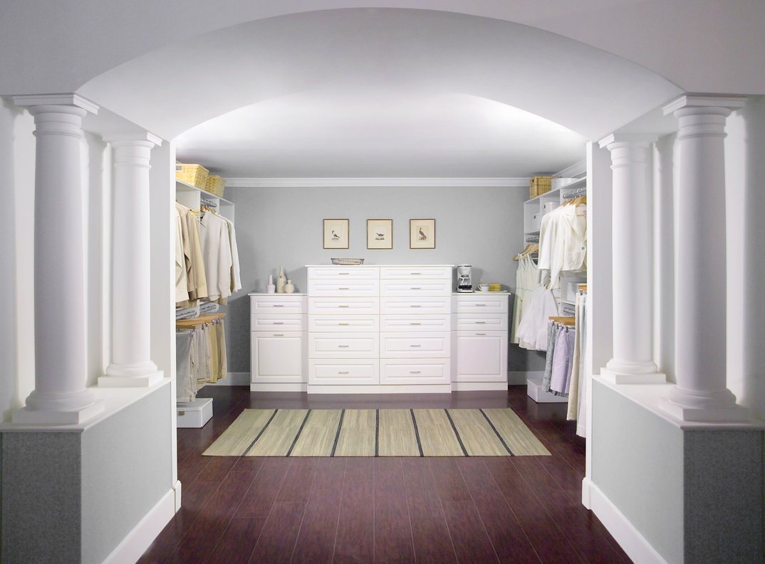 His Her Walk In Closet Easyclosets